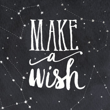 Wall mural - Make a Wish