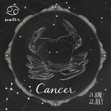 Wall mural - Night Sky Cancer