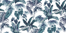 Wallpaper - Tropic Toile Marine