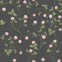 Wallpaper - Clover Grey