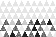 Wallpaper - Soft Triangles Grey