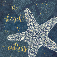 Canvas print - The Beach is Calling