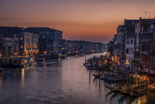 Canvastavla - Venice Grand Canal at Sunset