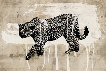 Canvastavla - Leopard Art