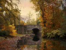 Canvas print - Midland Bridge