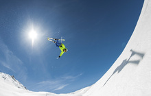 Fototapet - Backcountry Backflip
