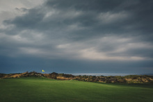 Canvas print - Golf Course in Lofoten, Norway