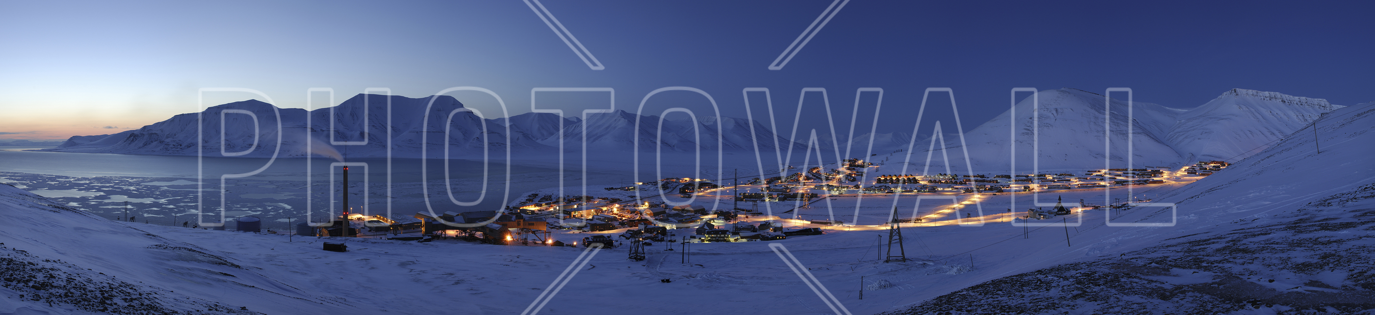 Longyearbyen by Night, Svalbard II