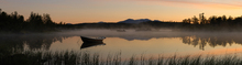 Fototapet - Peaceful Evening at the Lake, Senja Norway