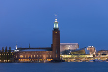 Canvas print - Stockholm City Hall