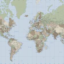 World Map Wallpaper  Wall Murals  Photowallcouk