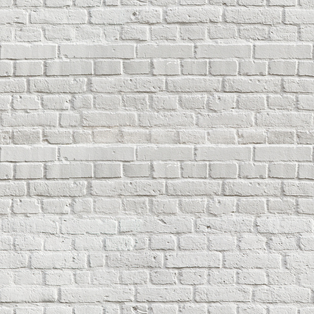 White Amsterdam Brick Wall