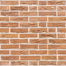 Wallpaper - Orange Brick Wall