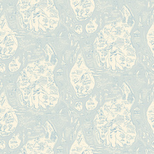 Wallpaper - Merry Maritime Map Pale Blue