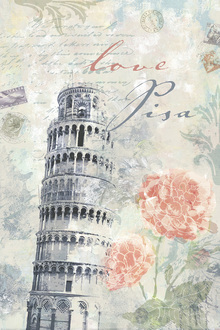 Wall mural - Love Pisa