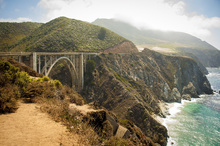 Wall mural - Cabrillio Bridge, California