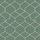 Tapet - Honeycomb Green