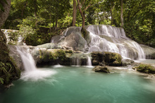 Wall mural - Panas Waterfalls III