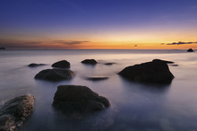 Fototapet - Vibrant Sunrise at Surigao