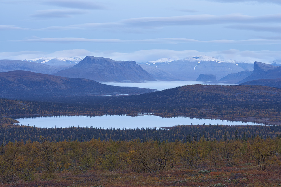 Scenic View of Sarek National Park, Sweden