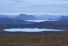 Fototapet - Scenic View of Sarek National Park, Sweden