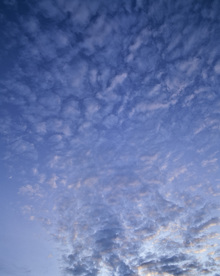 Canvastavla - Blue Cloudscape