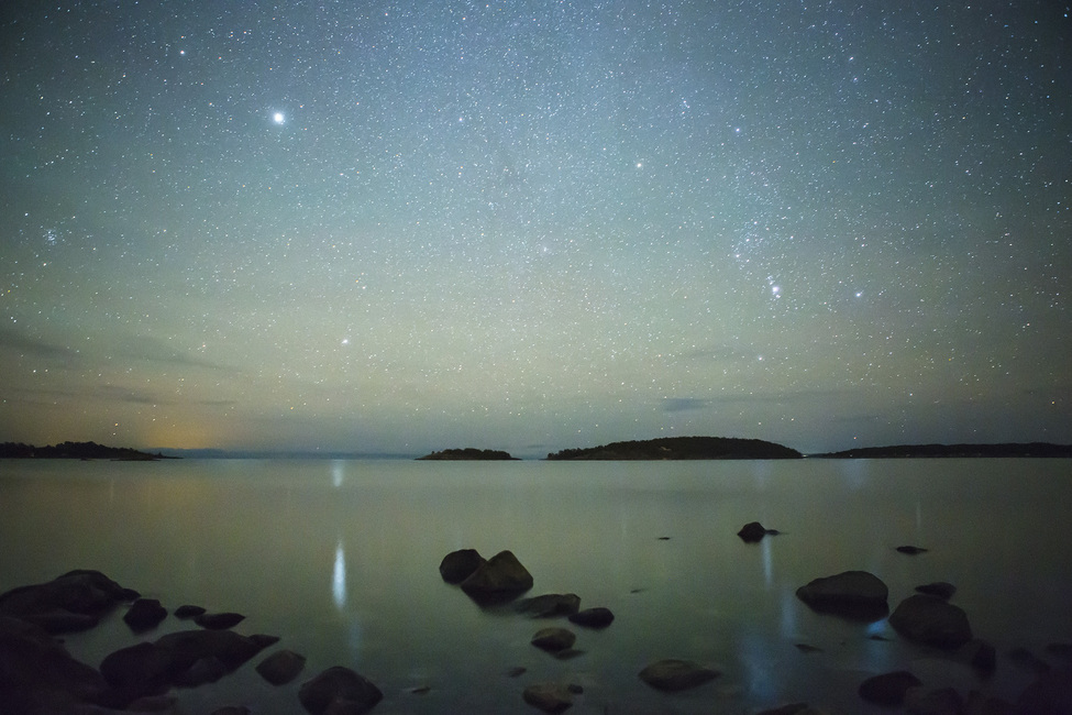 Starry Sky over Juniskär, Sweden