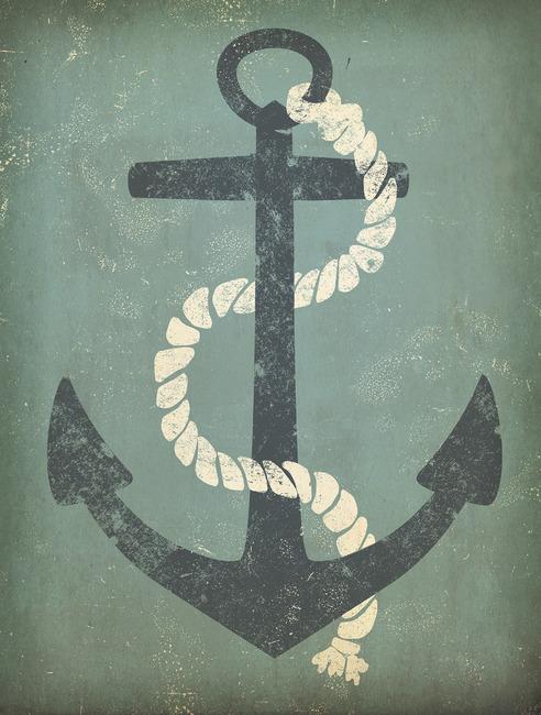 nautical anchor wall mural photo wallpaper photowall