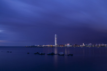 Canvas print - Turning Torso - Malmö Skyline
