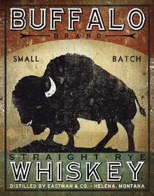 Canvas print - Buffalo Whiskey