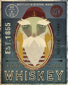 Fototapet - Old Salt Whiskey