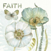 Canvas print - My Greenhouse Flowers - Faith