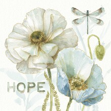 Canvas print - My Greenhouse Flowers - Hope