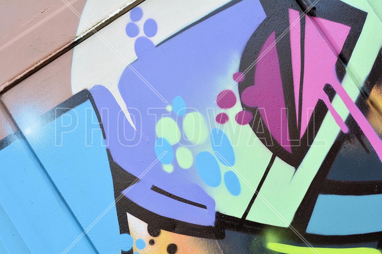 graffiti wallpaper wall murals photowall co uk wall mural pastel graffiti