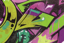 Canvas print - Urban Graffiti Detail