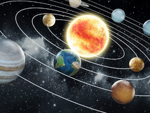 Wall mural - Eight Planets