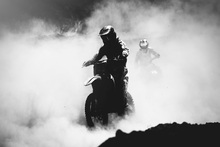 Canvas print - Motocross Racer