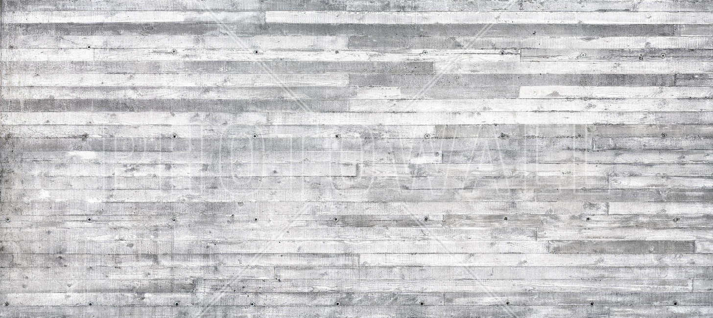 Concrete Wall Horizontal Planks