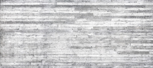 Fototapeta - Concrete Wall Horizontal Planks