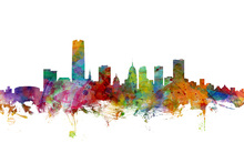 Canvas print - Oklahoma City Skyline