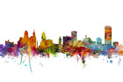Wall mural - Buffalo New York Skyline