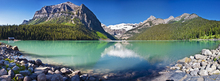 Wall mural - Lake Louise, Alberta, Canada, North America,  Panorama