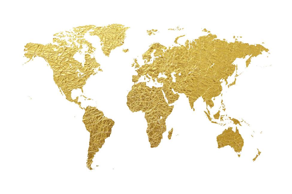 wallpaper world map gold - photo #1