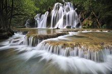 Canvas print - Flowing Water in France