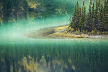Canvas print - Green Waters of Emerald Lake