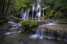 Fotobehang - View of La Cascade des Tufs, France, Europe