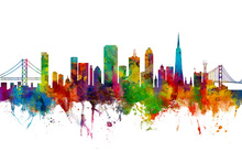 Wall mural - San Francisco City Skyline