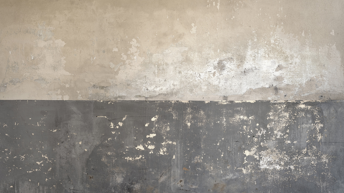 Flaking Plaster Wall