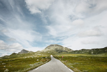 Canvas print - Pass Road, Norway