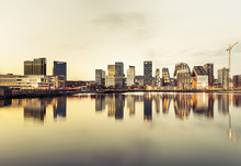 Canvas print - Oslo Skyline in Sunset